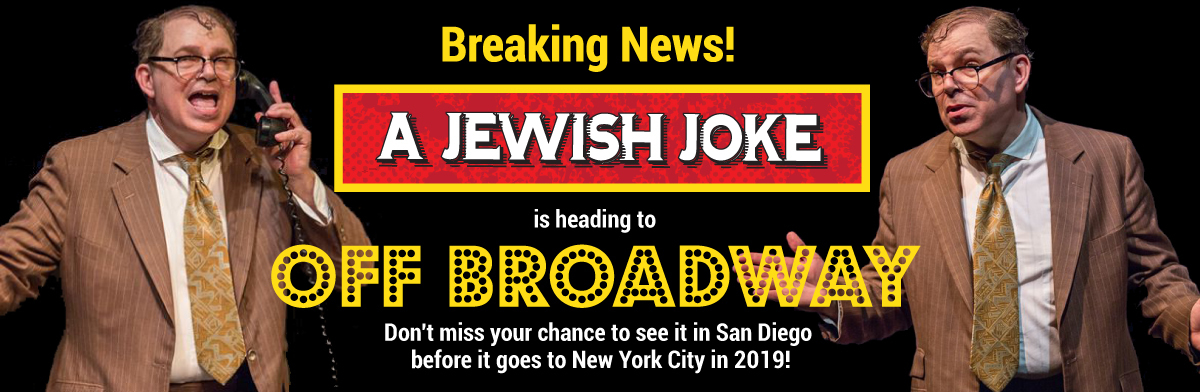 A Jewish Joke Off Broadway